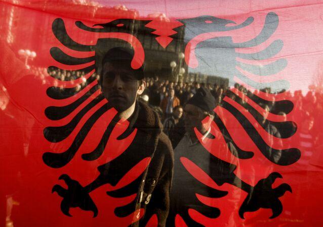 Bandiera di Albania