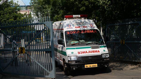 Ambulanza indiana - Sputnik Italia