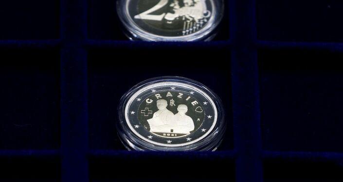 Moneta da 2 euro dedicata ai medici italiani