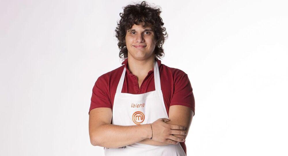Cuoco italiano Valerio Braschi