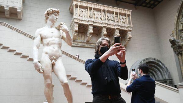 David di Michelangelo, il museo di Pushkin, Mosca - Sputnik Italia