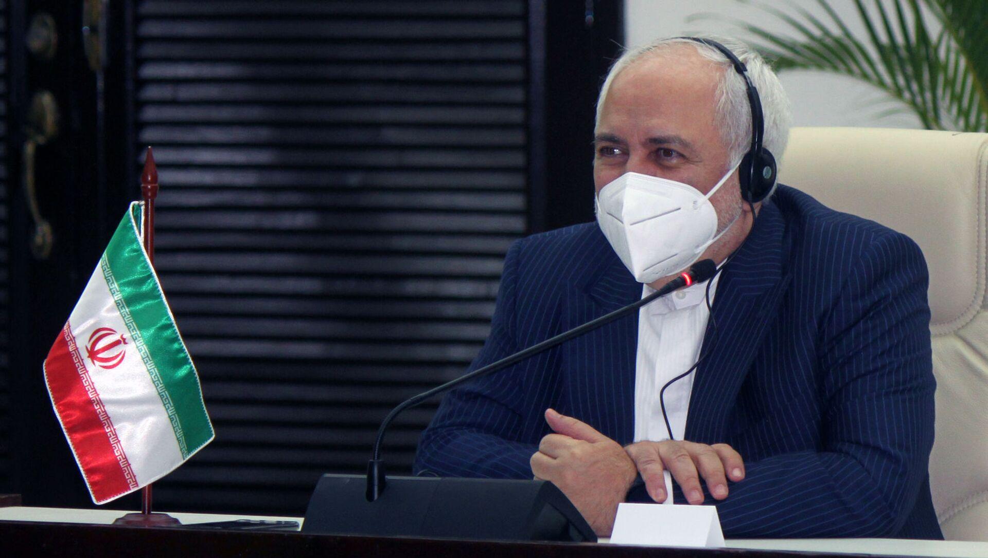 محمد یواد ظریف ، وزیر امور خارجه ایران - اسپوتنیک ایتالیا ، 1920 ، 17.05.2021