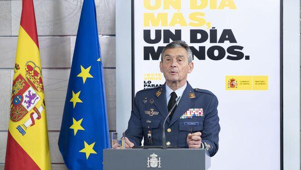 Il Capo di Stato Maggiore della Difesa della Spagna, IL Generale Miguel Ángel Villarroya - Sputnik Italia