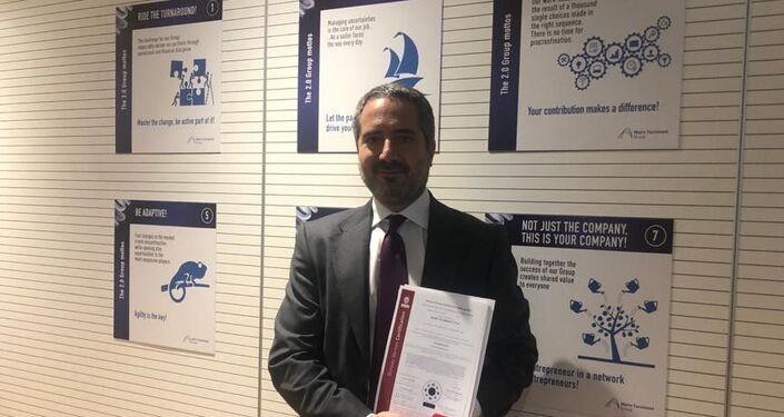 Pierroberto Folgiero, il CEO di Maire Tecnimont
