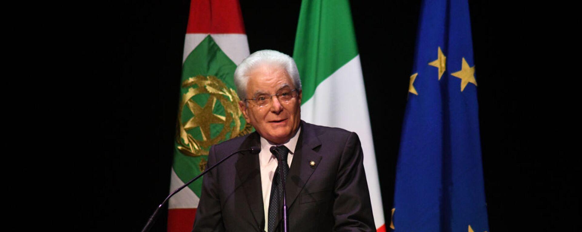 Il Presidente della Repubblica Sergio Mattarella ai 150 anni dell'Associazione Italiana Editori - Sputnik Italia, 1920, 21.03.2021