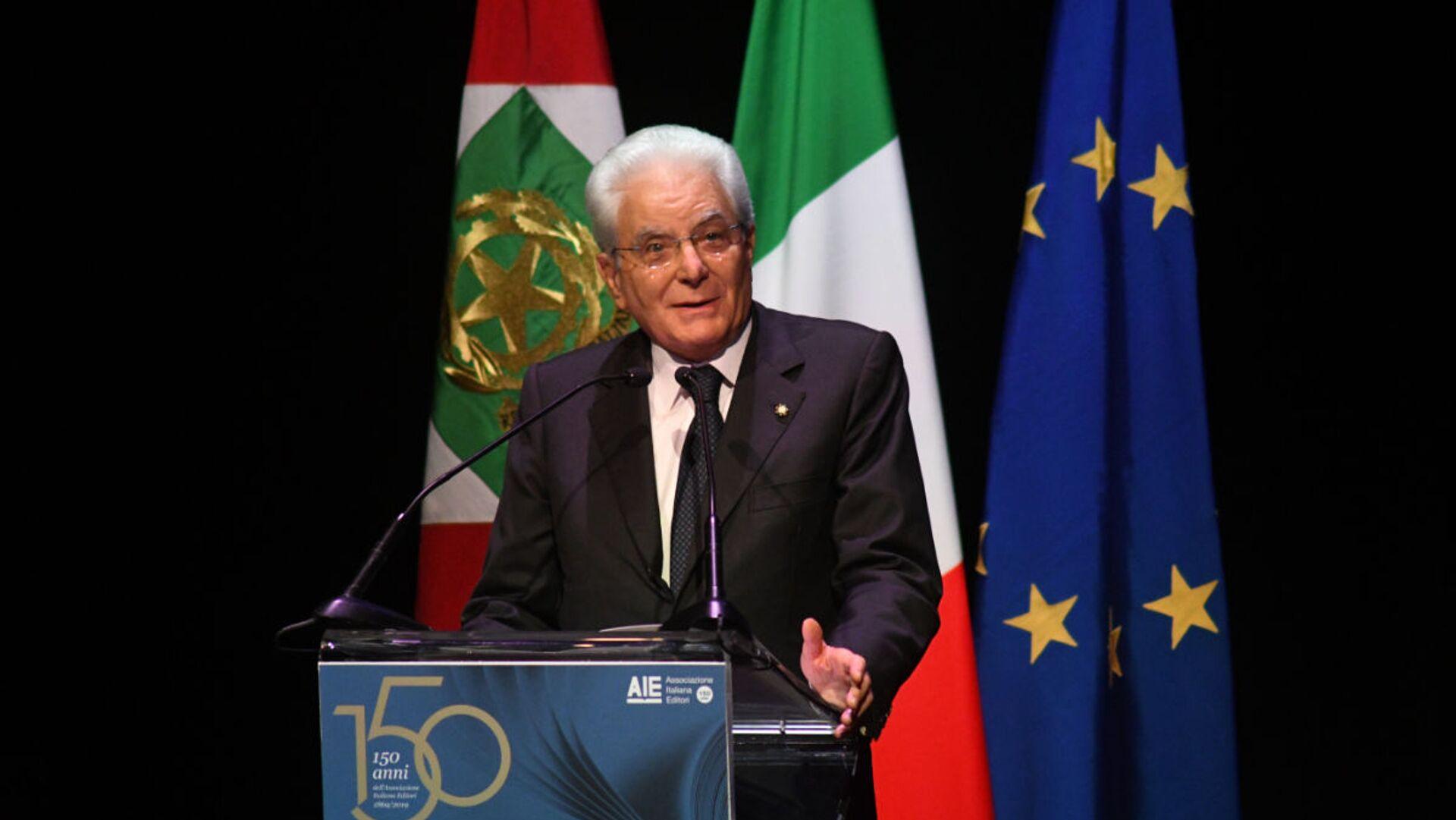 Il Presidente della Repubblica Sergio Mattarella ai 150 anni dell'Associazione Italiana Editori - Sputnik Italia, 1920, 21.06.2021