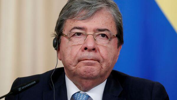 Carlos Holmes Trujillo, ministro colombiano - Sputnik Italia