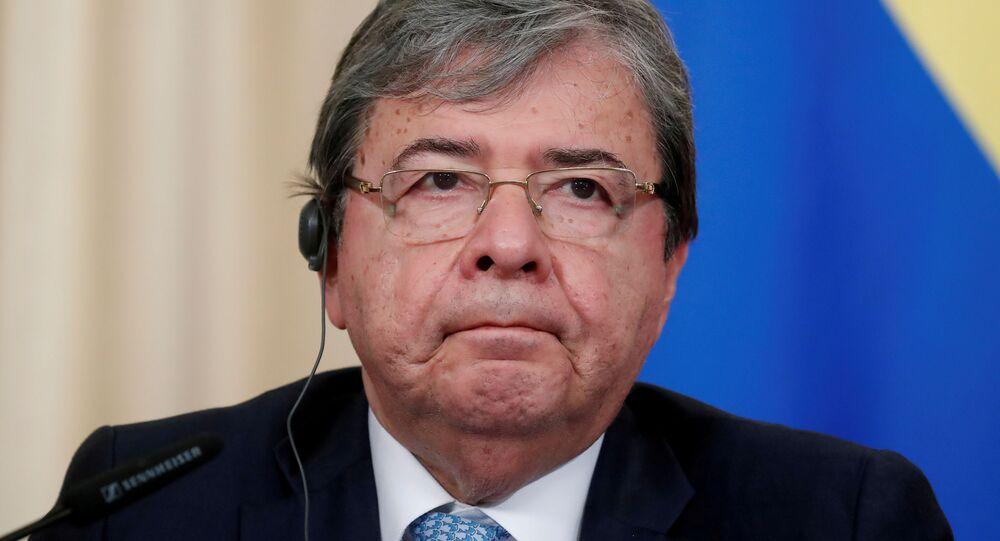 Carlos Holmes Trujillo, ministro colombiano