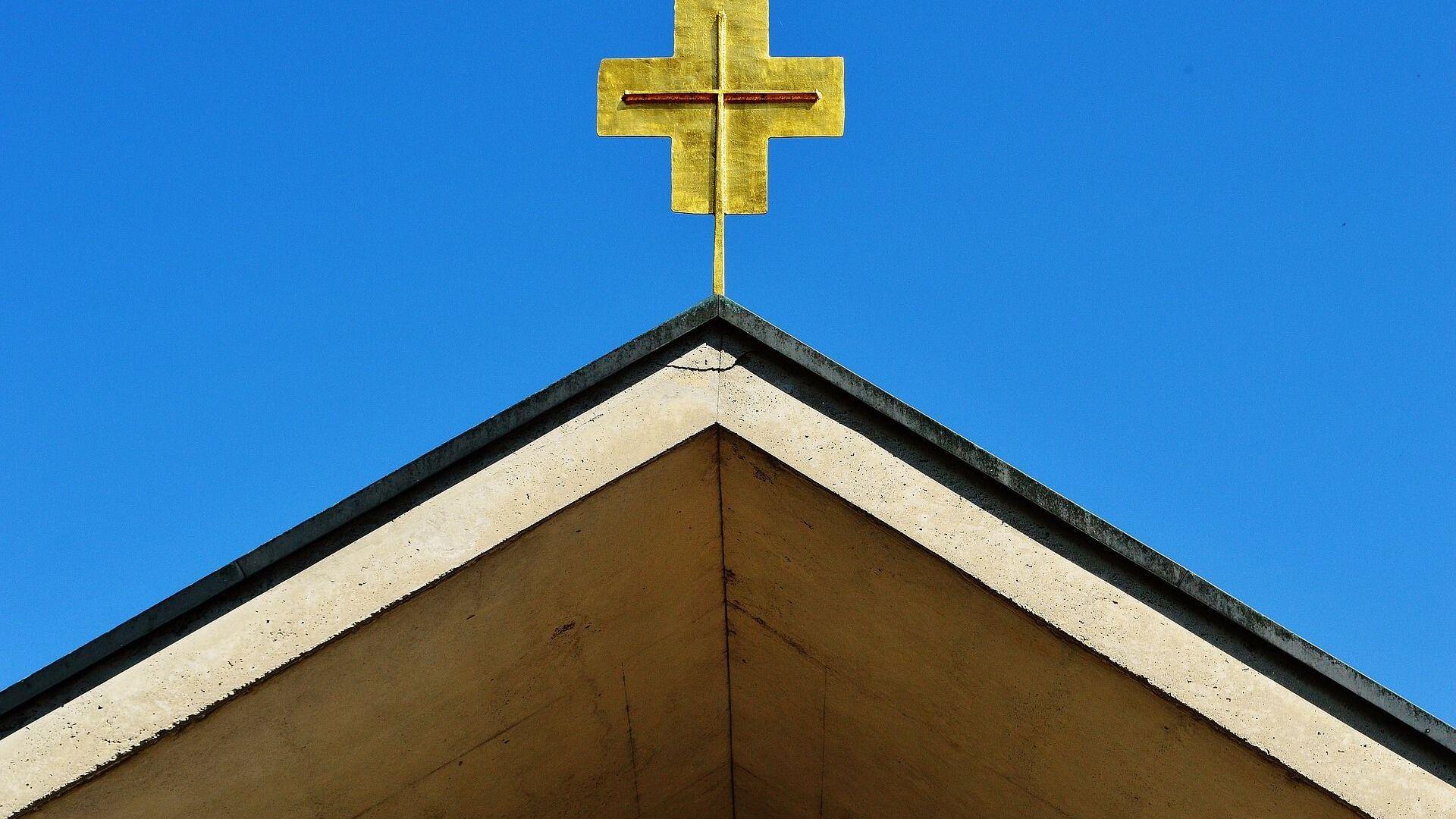 La croce di una chiesa - Sputnik Italia, 1920, 23.06.2021