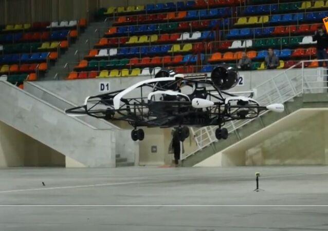 Russia: presentato a Mosca un prototipo di taxi volante
