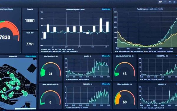 Un esempio del grafico dei flussi - Sputnik Italia