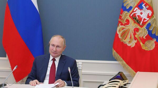 L'intervento di Putin al World Economic Forum di Davos - Sputnik Italia