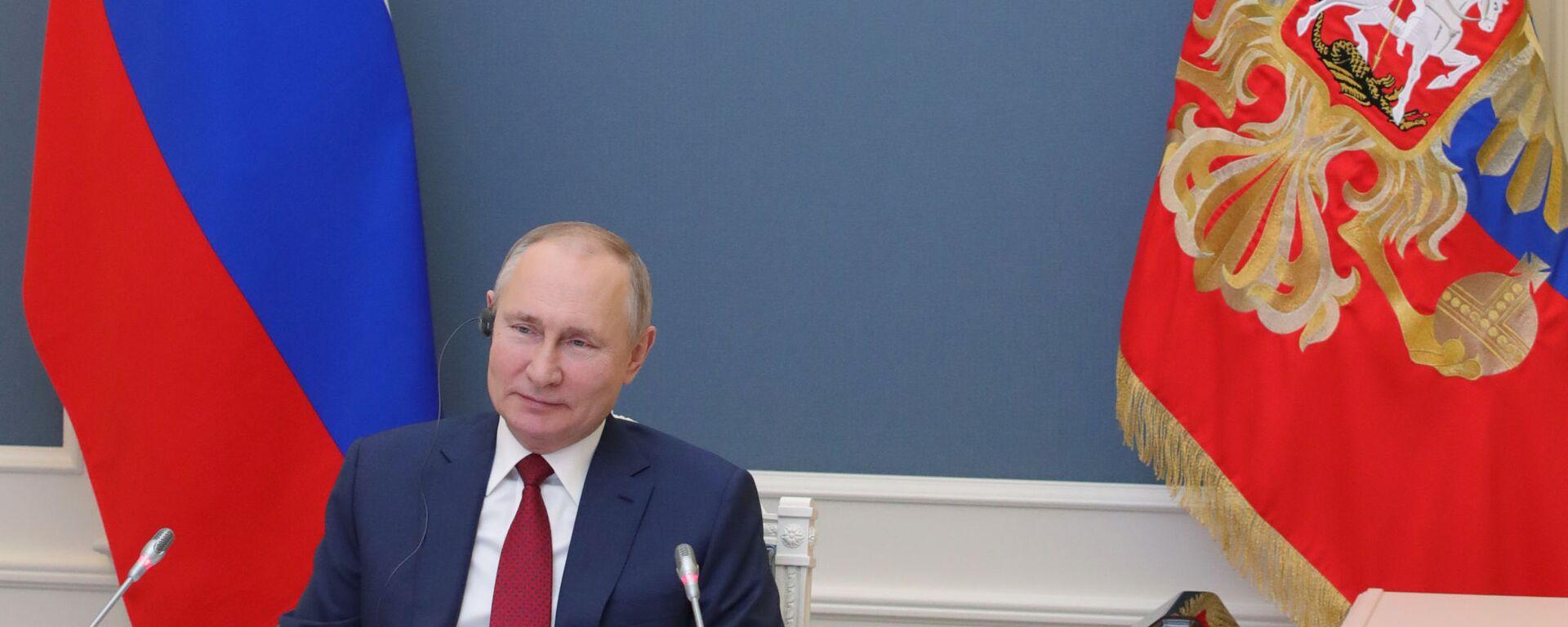 L'intervento di Putin al World Economic Forum di Davos - Sputnik Italia, 1920, 13.06.2021