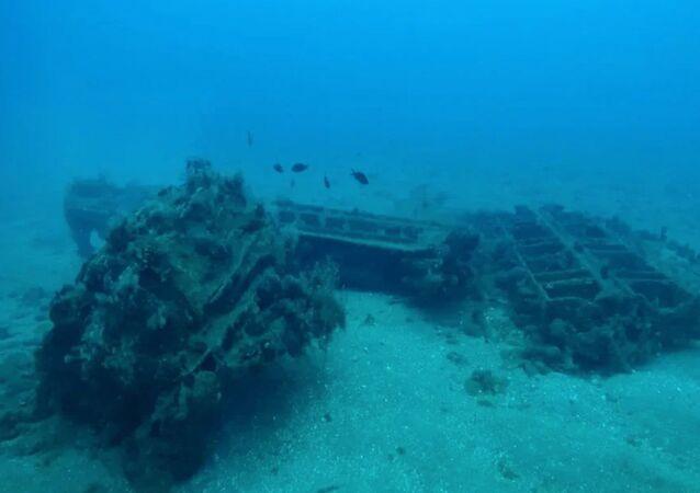 Gli scienziati hanno scoperto le rovine di un antico porto romano nell'area acquatica della città siriana di Tartus
