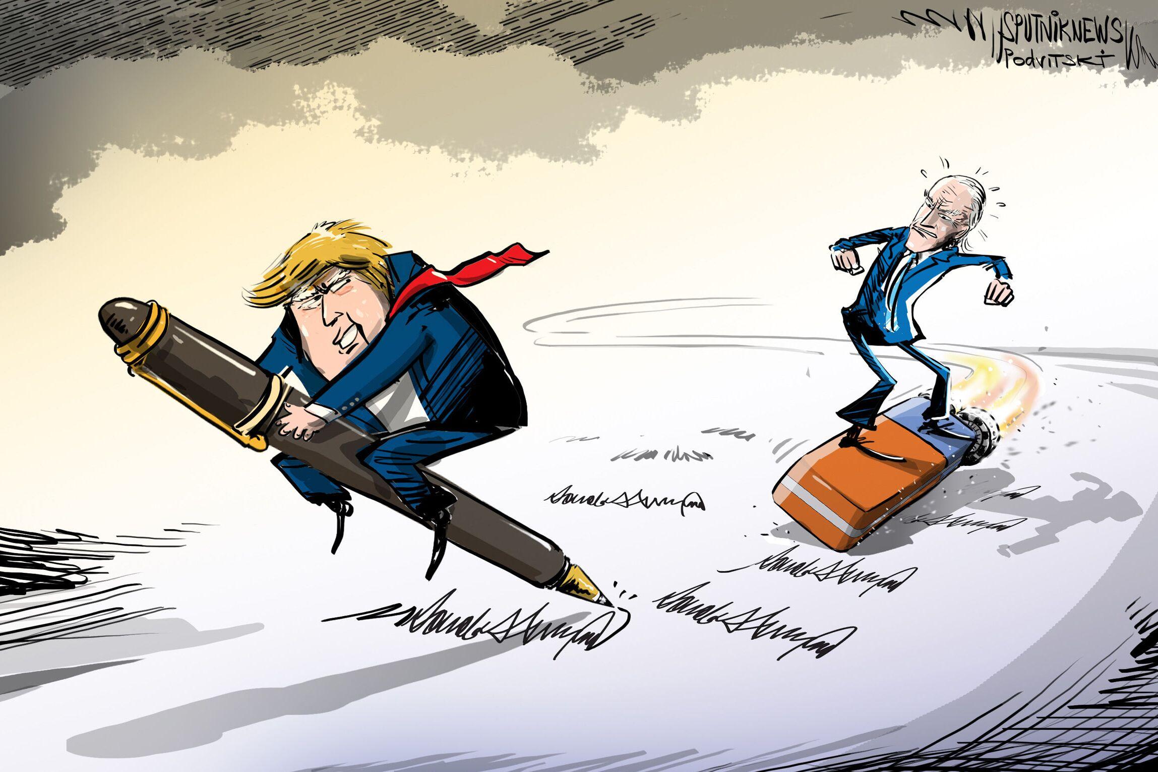 Trump cancellato