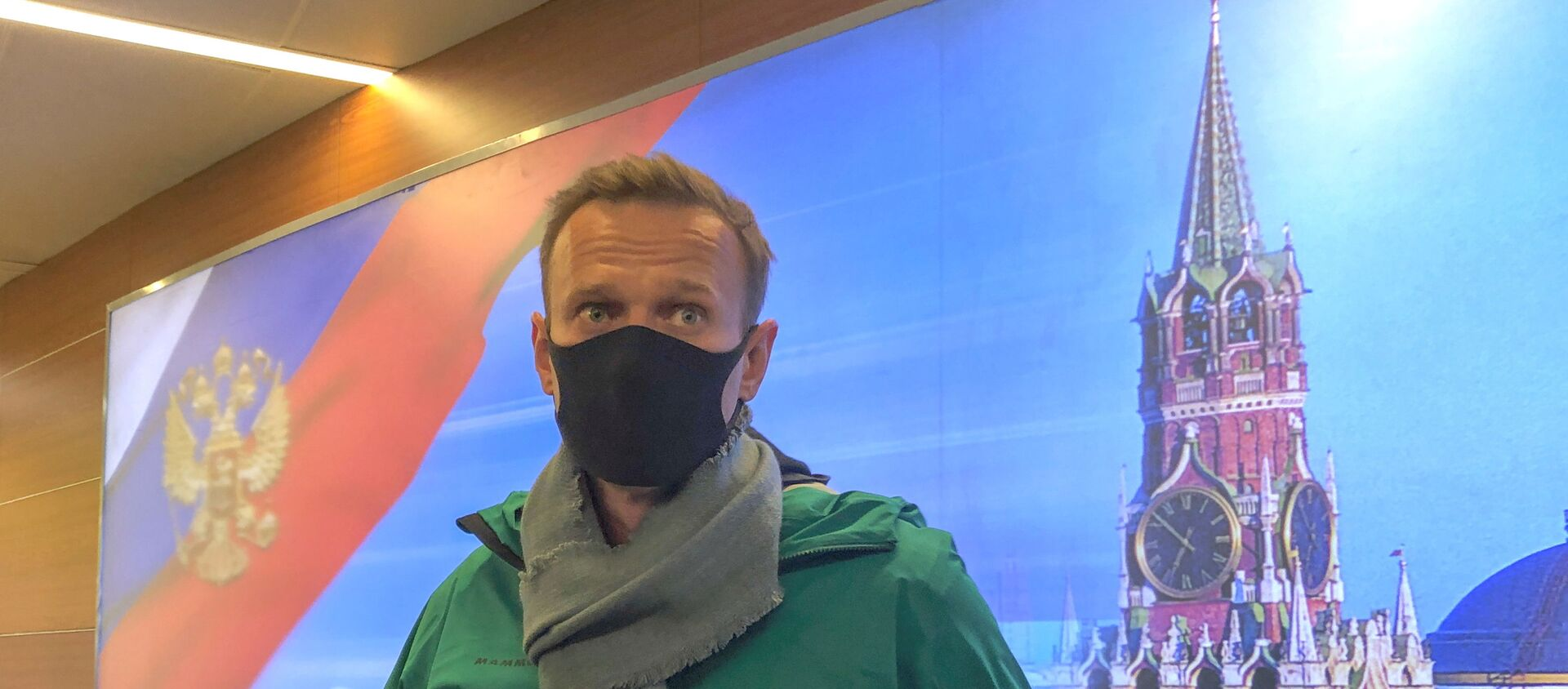 Russian opposition leader Alexei Navalny arrives in Moscow - Sputnik Italia, 1920, 31.01.2021