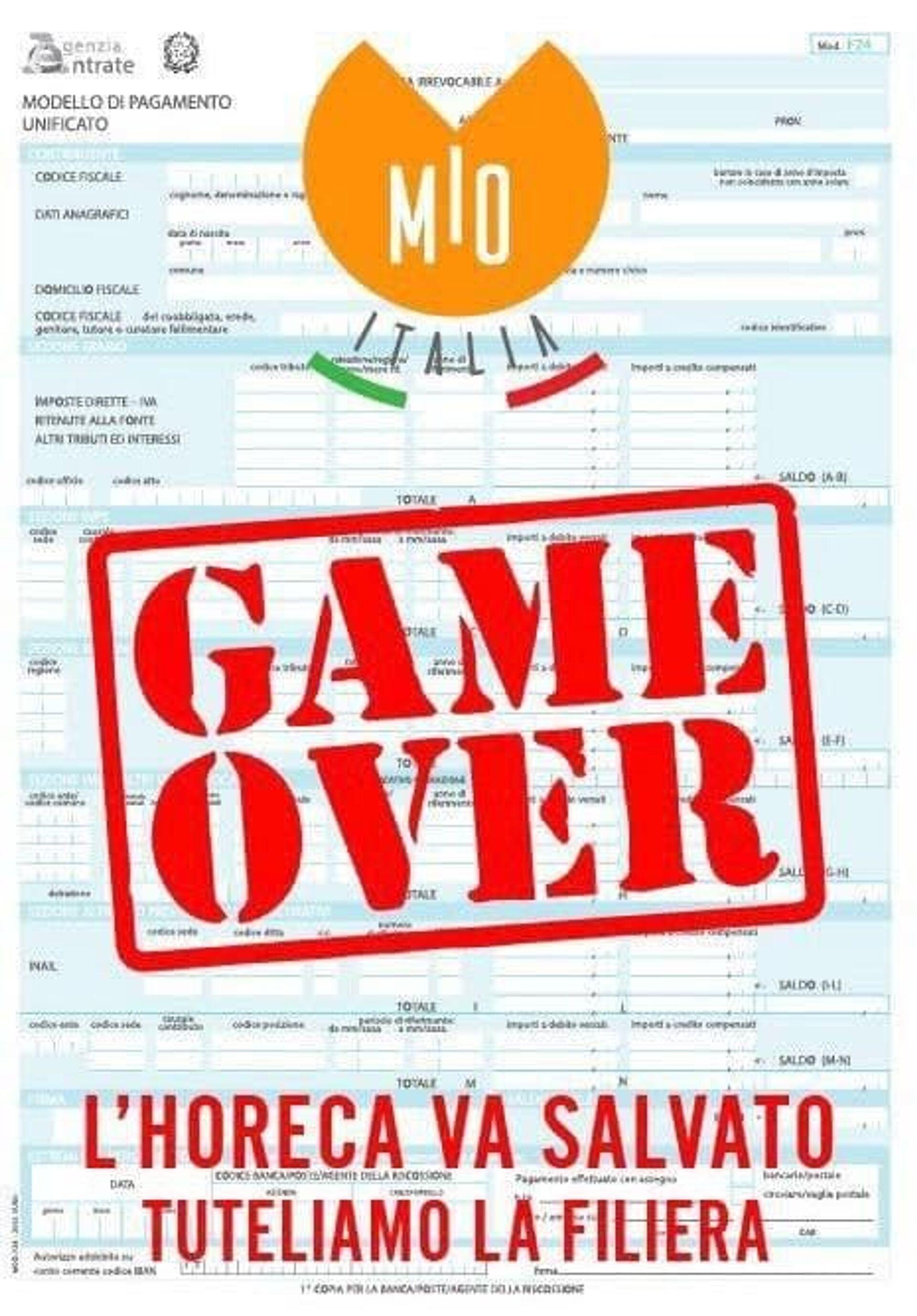 Aziende fornitrici di bar ristoranti e pizzerie aderenti a MIO Italia annunciano sciopero fiscale - Sputnik Italia, 1920, 01.02.2021