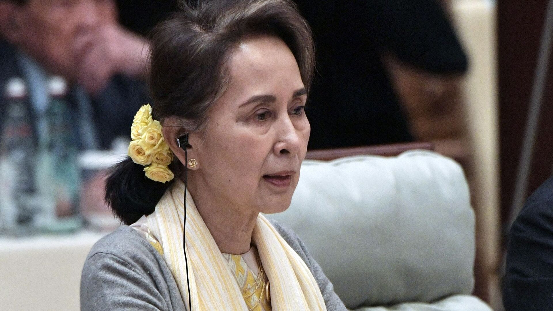 Aung San Suu Kyi, Consigliere di Stato di Myanmar - Sputnik Italia, 1920, 28.06.2021