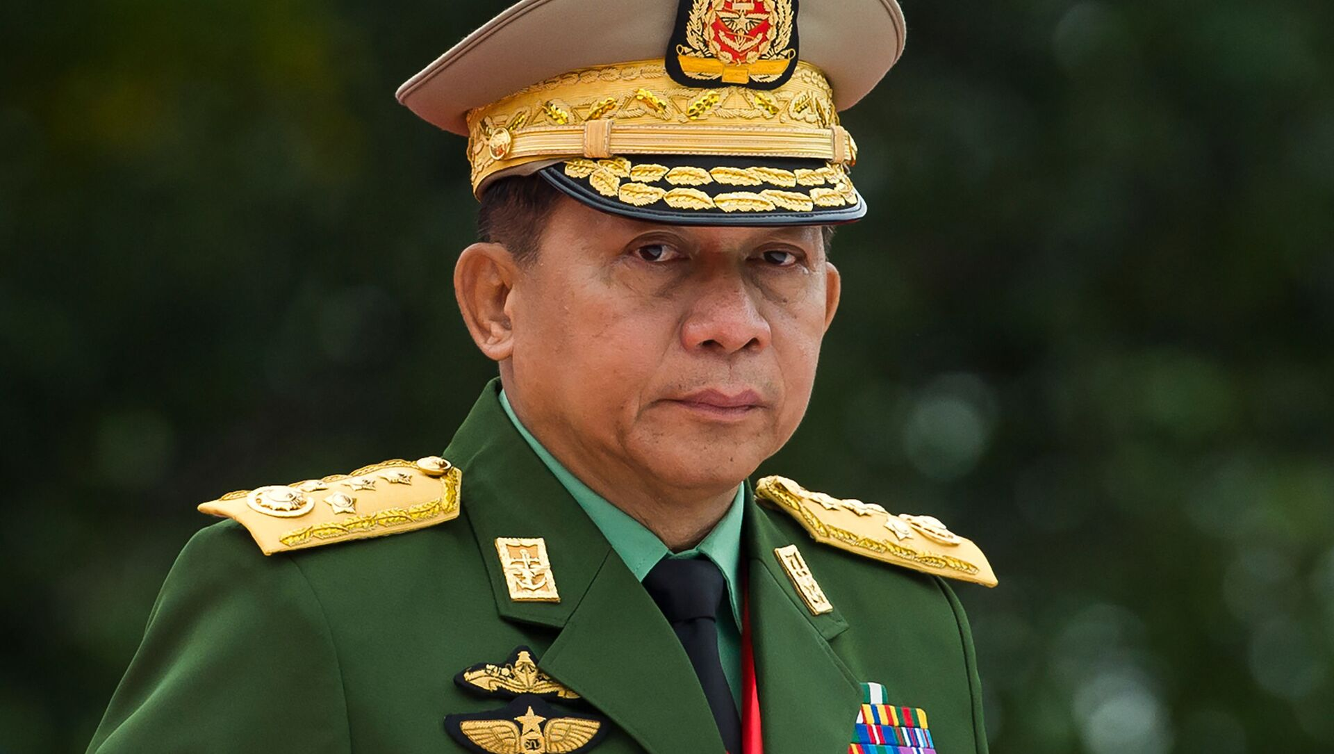 Min Aung Hlaing, comandante militare di Myanmar  - Sputnik Italia, 1920, 07.02.2021