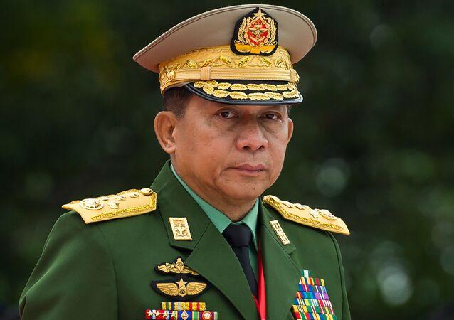 Min Aung Hlaing, comandante militare di Myanmar