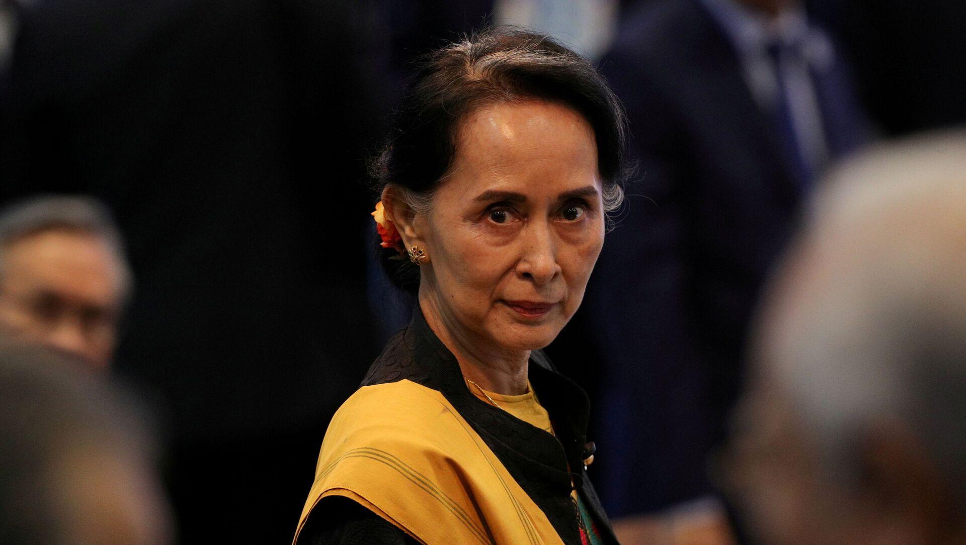 Myanmar, presentati i capi d'accusa contro il presidente Win Myint e Aung San Suu Kyi - Sputnik Italia, 1920, 03.02.2021