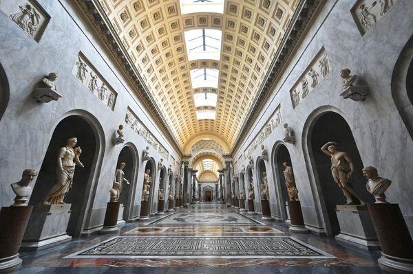 I Musei Vaticani prima della riapertura, il 1° febbraio 2021 - Sputnik Italia