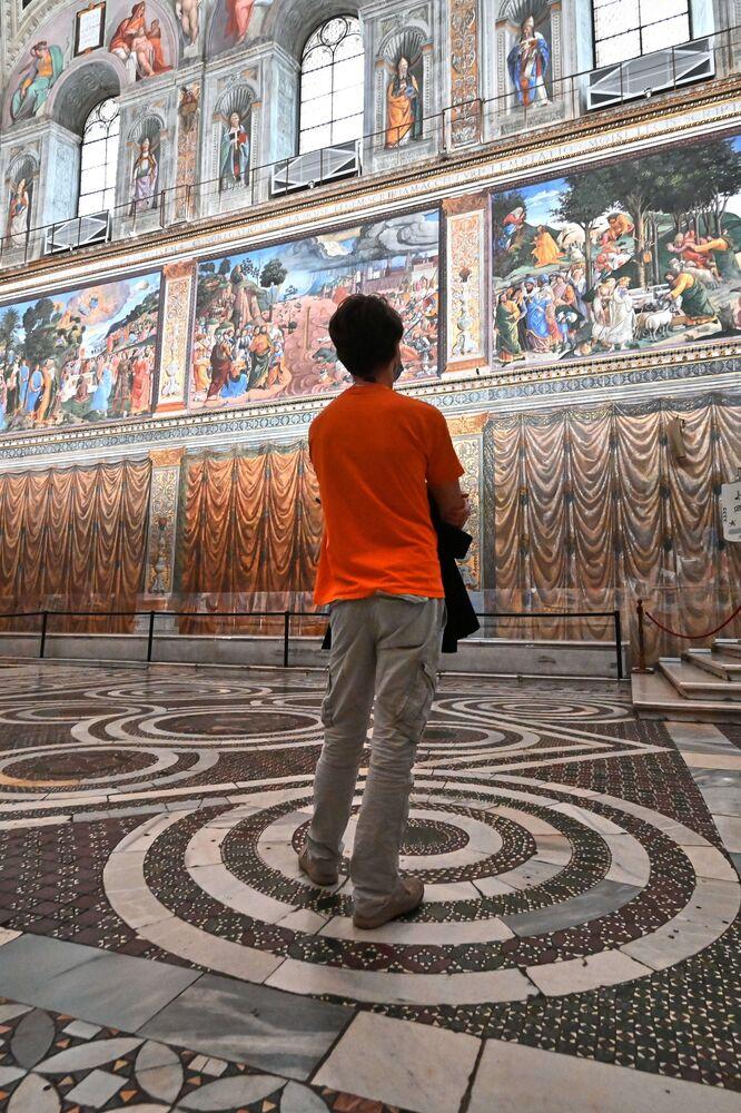 I Musei Vaticani non erano mai rimasti chiusi così a lungo, bisogna infatti risalire alla seconda guerra mondiale per rintracciare un periodo di chiusura così prolungato.
