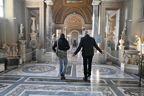 Continua il programma di vaccinazione per il Covid-19 di tutto il personale dei Musei e restano in vigore tutte le precauzioni anticontagio già attivate con la prima riapertura del 1 giugno 2020.  - Sputnik Italia