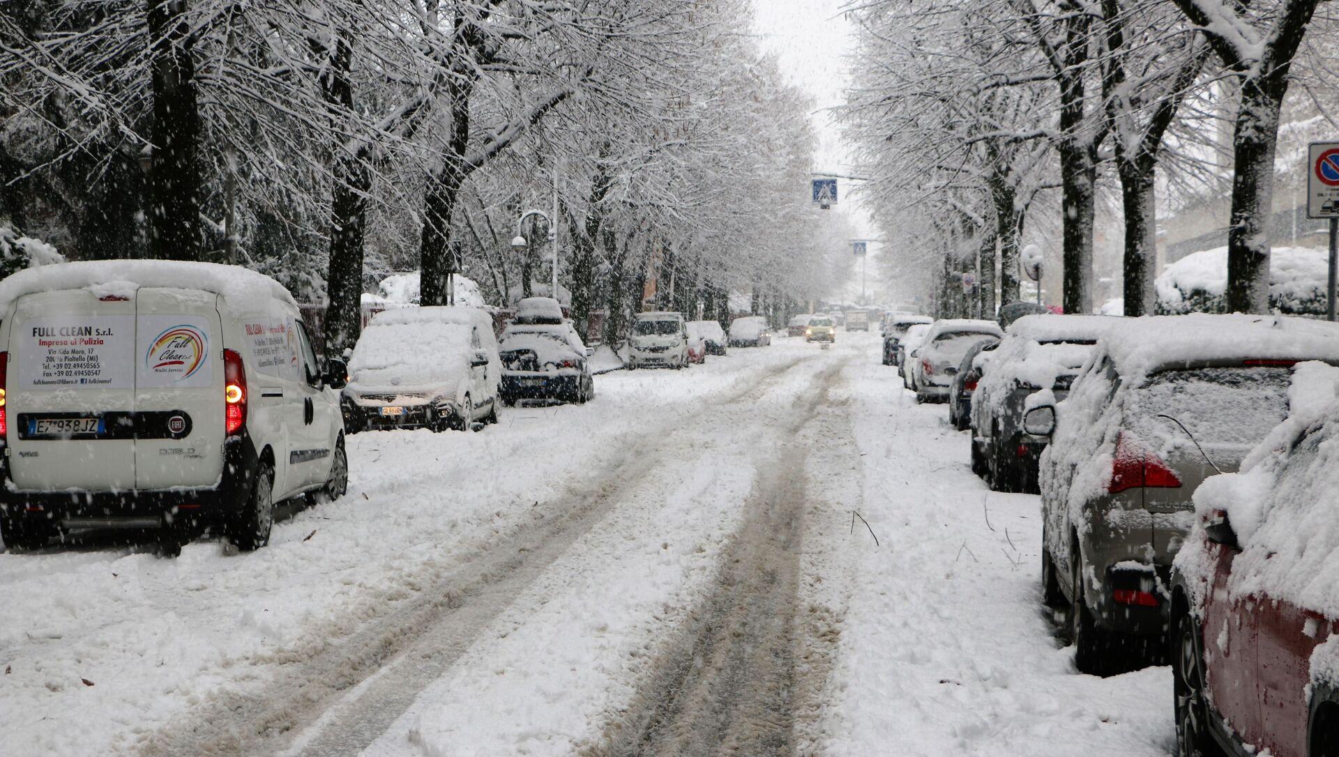 Inverno a Milano - Sputnik Italia, 1920, 15.02.2021