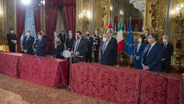 Il centrodestra alle consultazioni - Sputnik Italia