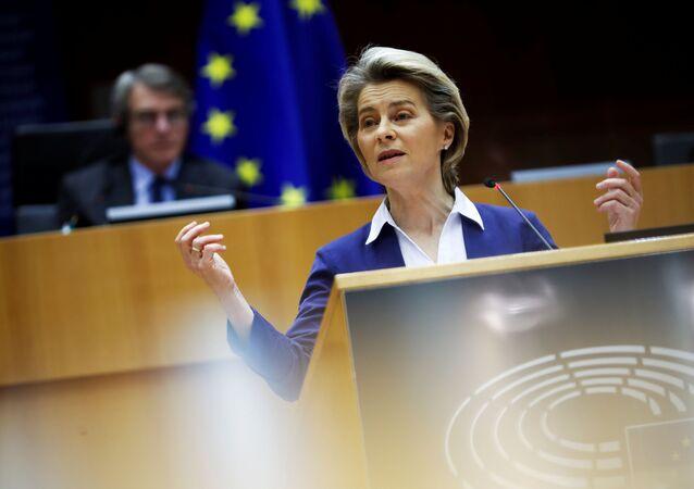 La presidente della Commissione Europea, Ursula von der Leyen