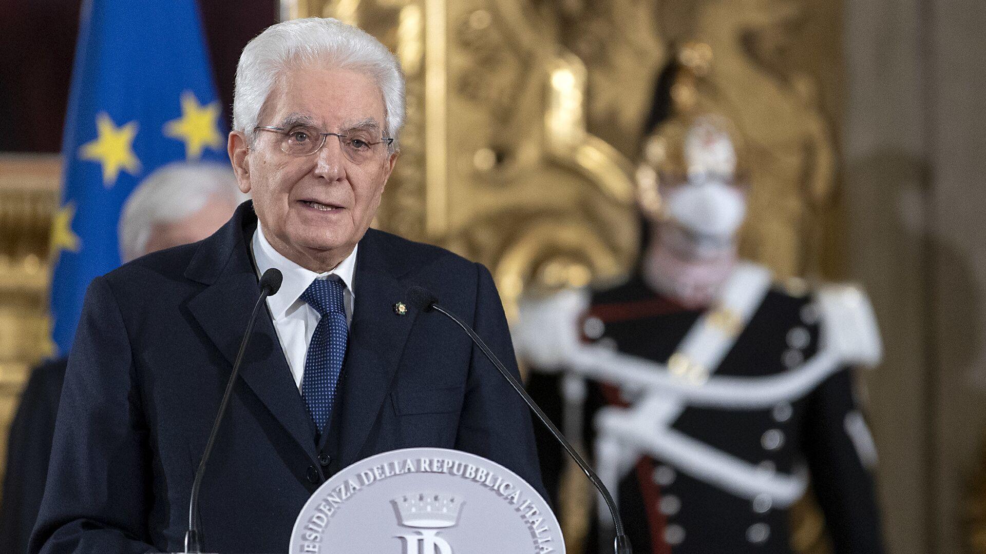 Il presidente Mattarella - Sputnik Italia, 1920, 23.07.2021