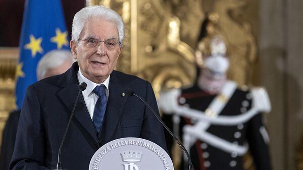 Il presidente Mattarella - Sputnik Italia