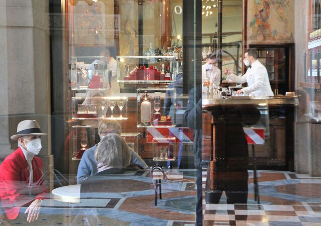Bar Campari a Milano