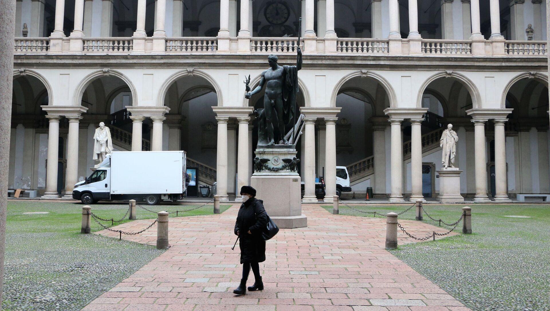 La Pinacoteca di Brera si apre dalla settimana prossima - Sputnik Italia, 1920, 03.02.2021