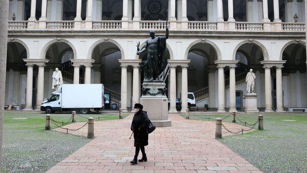 La Pinacoteca di Brera si apre dalla settimana prossima - Sputnik Italia
