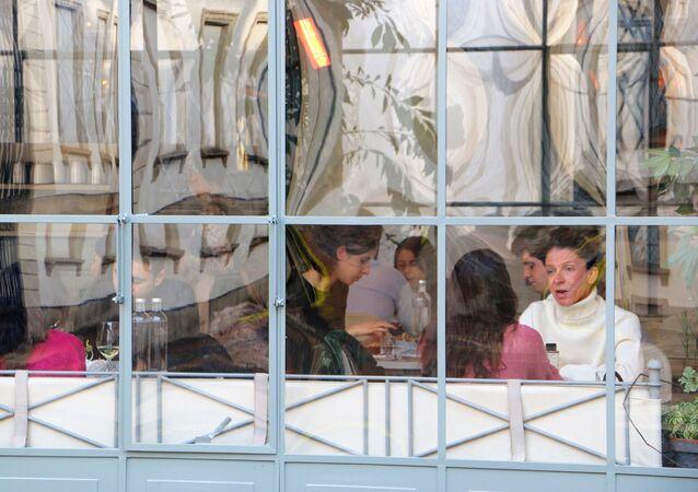 Ristorante nel cortile del Galleria d'Arte Moderna