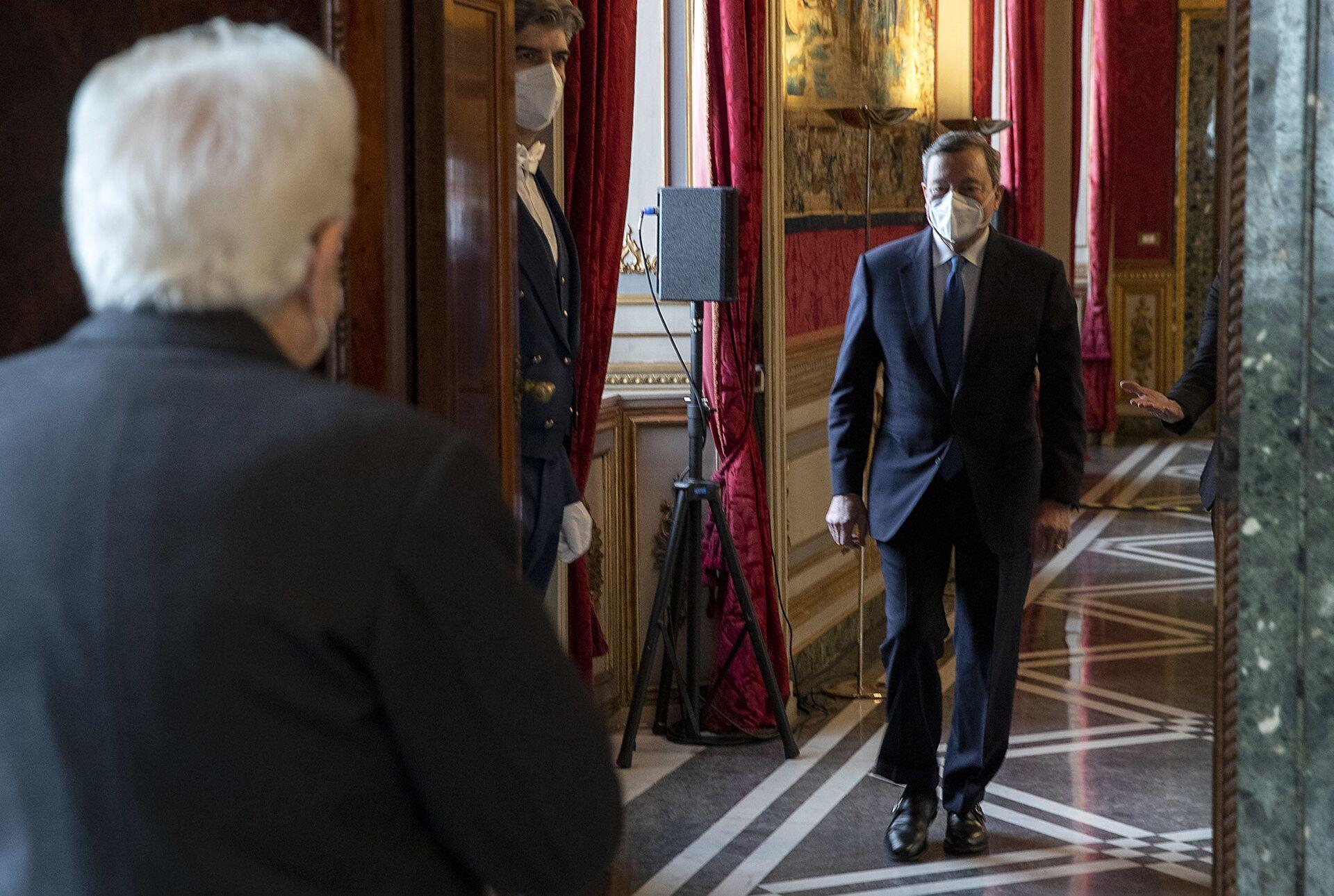Zingaretti: Ci fidiamo di Draghi e siamo al lavoro per un governo forte - Sputnik Italia, 1920, 05.02.2021
