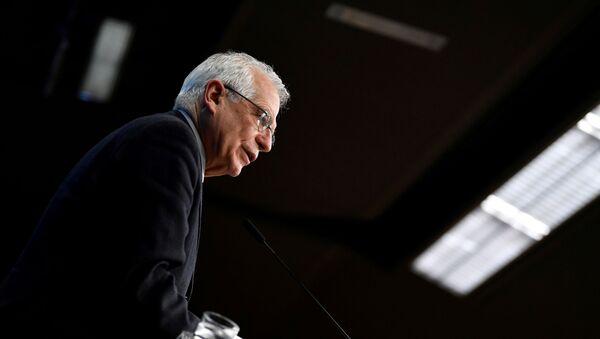 L'alto rappresentante dell'Unione per gli affari esteri e la politica di sicurezza Josep Borrell - Sputnik Italia