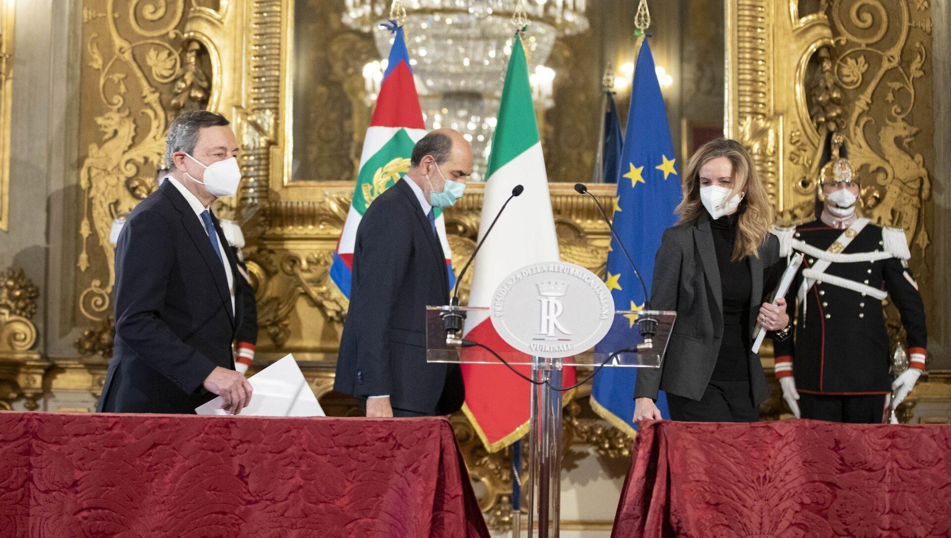 Mario Draghi - Sputnik Italia, 1920, 03.02.2021