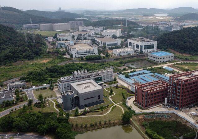 Il complesso dell'Istituto di Virologia di Wuhan