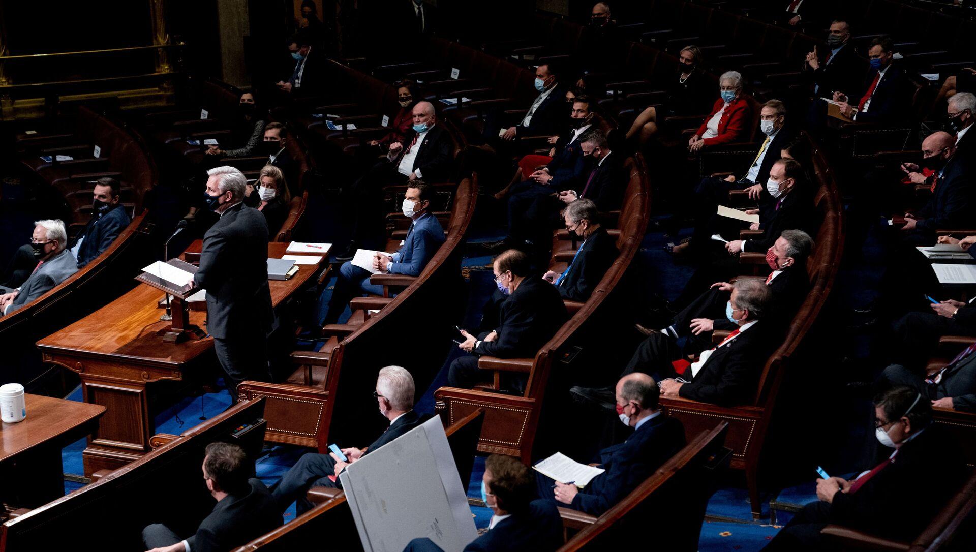 USA, Camera dei Rappresentanti approva piano anti-crisi da $ 1900 miliardi - Sputnik Italia, 1920, 04.02.2021