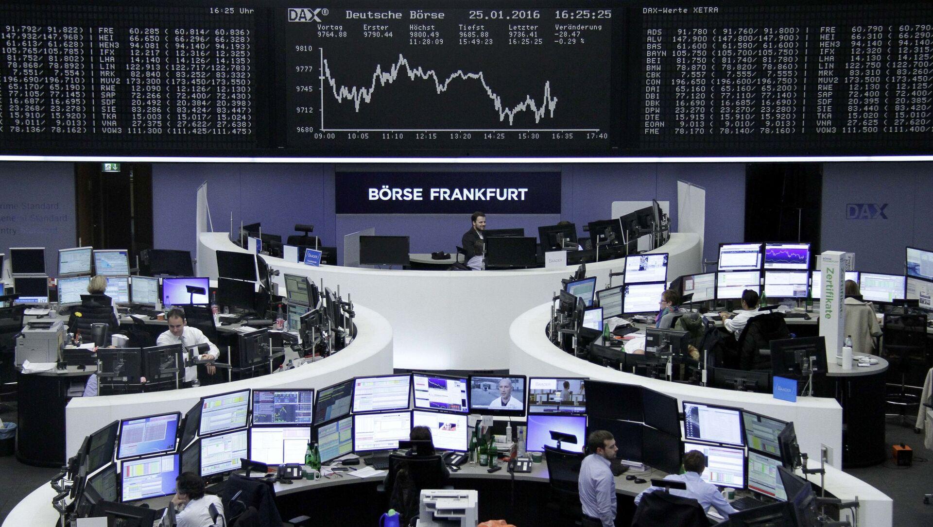 Borsa di Francoforte - Sputnik Italia, 1920, 04.02.2021