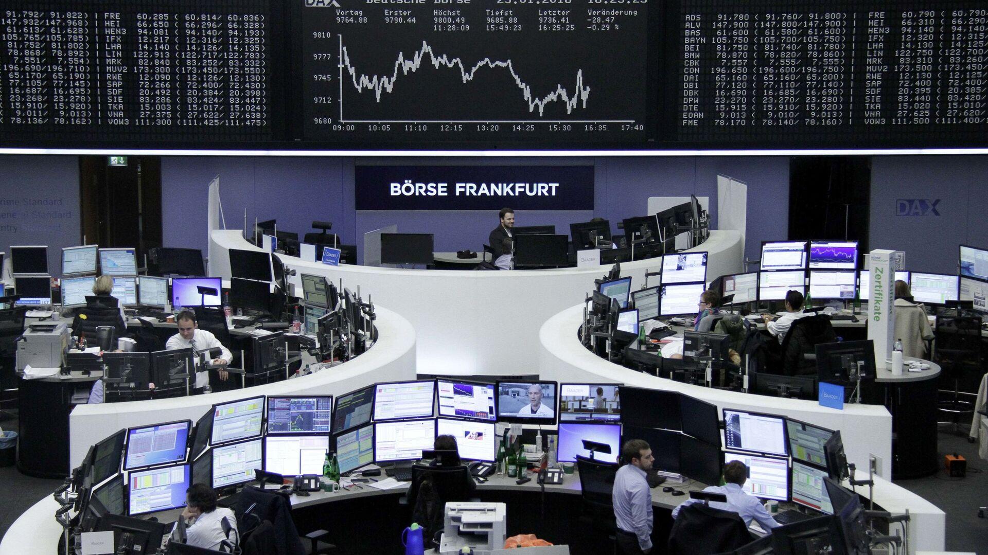 Borsa di Francoforte - Sputnik Italia, 1920, 15.09.2021