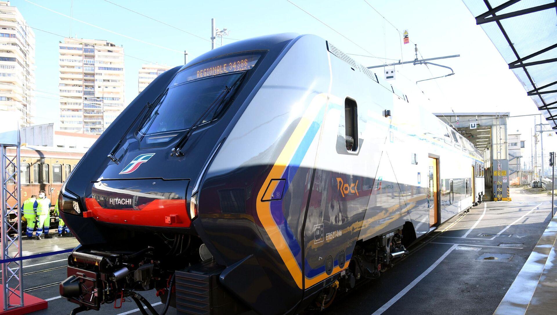 Un nuovo treno regionale locale TAF-Rock - Sputnik Italia, 1920, 08.02.2021