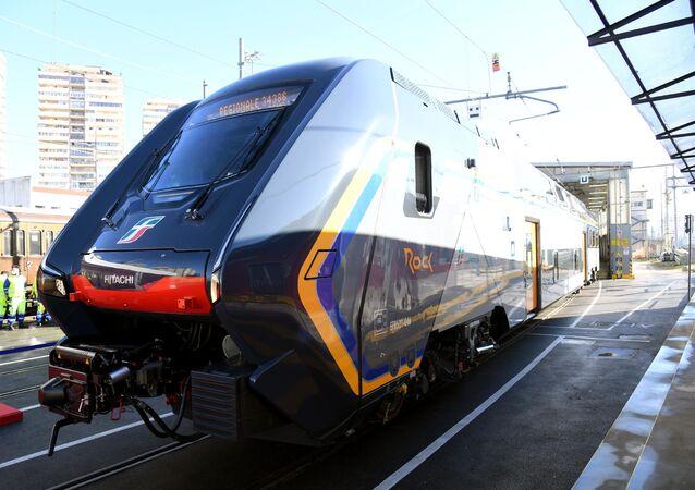 Un nuovo treno regionale locale Rock