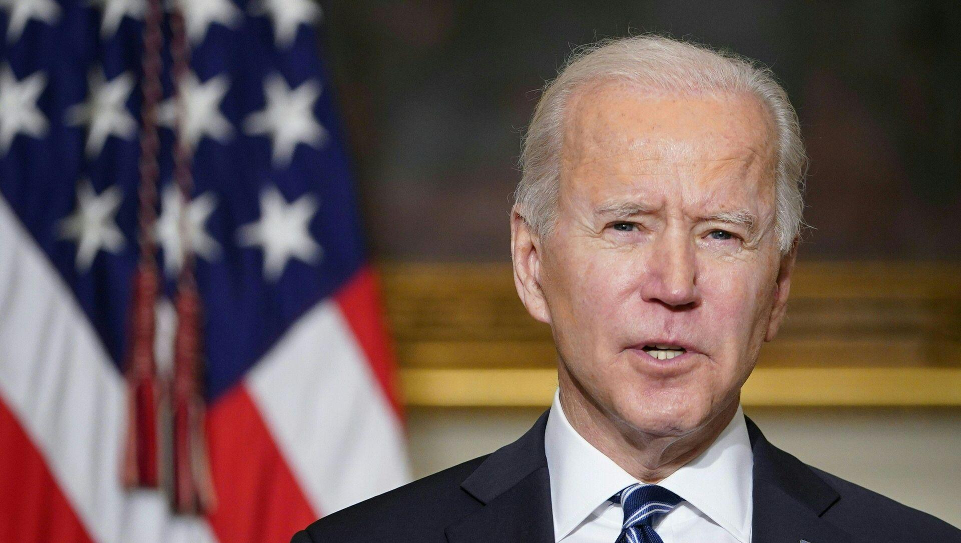 Il presidente degli Stati Uniti Joe Biden - Sputnik Italia, 1920, 04.03.2021
