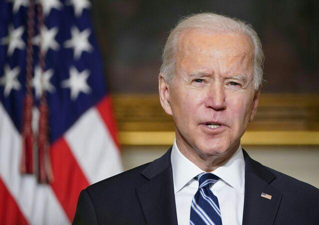 Il presidente degli Stati Uniti Joe Biden