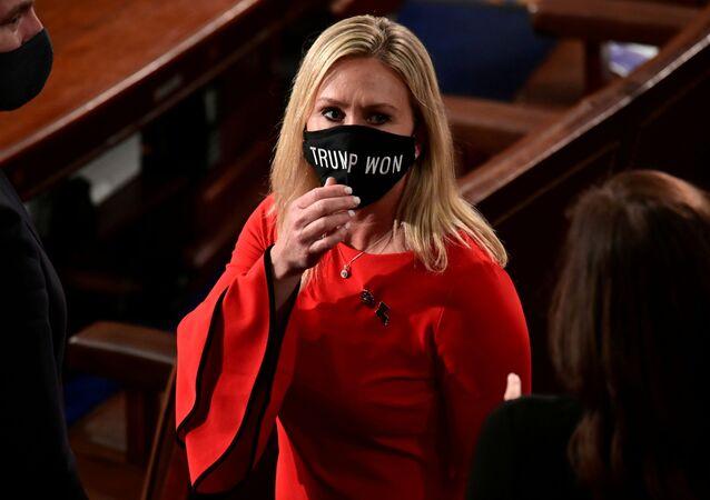 La deputata repubblicana Marjorie Greene