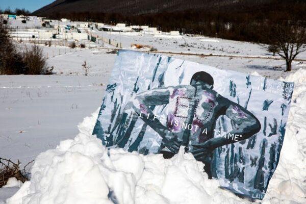 Street artist Laika in Bosnia - Sputnik Italia